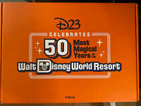 2021 D23 Gold Member Collector Set Celebrating 50 Most Magical Years WDW Resort