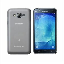 Color casas de goma efecto hielo blanco compatible con Samsung Galaxy J7