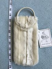 Isabellas Journey Glasses Case Cover Pouch Faux Fur