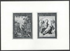 Benin #C303-04 1982 Christmas Paintings composite photographic proof
