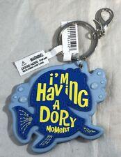 Disney Parks I'm Having a Dory Moment Finding Nemo Keychain Vinyl - NEW