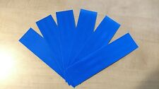 """3M 6 STRIPS 1.5"""" x 8"""" BLUE PRISMATIC REFLECTIVE CONSPICUITY TAPE"""