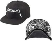 Metallica Snapback Cap Damage INC Official Licensed Hat Rock Metal Band Merch