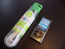 ~~VG~~ Apple iPod nano 5th Gen Black 8 GB with NEW Battery & New Cable BUNDLED