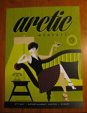 ARCTIC MONKEYS SYDNEY 2014 POSTER TOM WHALEN not cd vinyl shirt