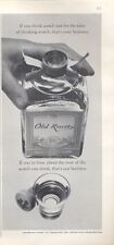1965 Old Rarity Scotch Whisky Vintage Bottle PRINT AD