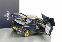 1994 Renault Clio Williams Phase I blau metallic Modellauto 1:18 Norev 185230