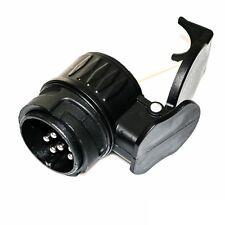 Anhänger Adapter Stecker Kurzadapter 13 auf 7 polig Steckdose Buchse *TOP NEU*