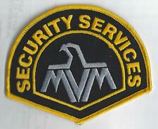 "USA  Security Services MVM 5""  Sewn On Patch"