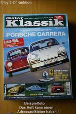 Motor Klassik 1/05 Porsche Carrera NSU Ro 80 Audi