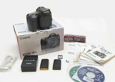 Canon EOS 70D 20.2 MP Digital SLR Camera - Body Only + EXTRA