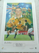 MASSIVE STEPHEN LARKHAM AUSTRALIA SIGNED IN PERSON PRINT COA