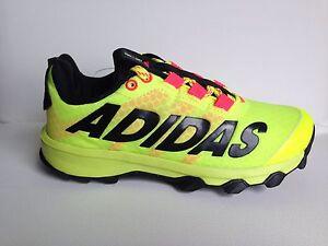 New Adidas Vigor 6 TR K YOUTH Running Sneakers D69808 Syelllo Yellow Black Red
