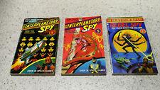 3 Interplanetary Spy Gamebooks 1, 5 & 7 - 1983/84 (Choose Your Own Adventure)