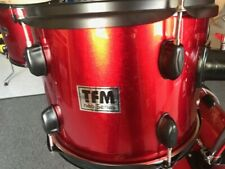 TFM TOM TOM - Hängetom  12x 9 in metaic red ! NEU !