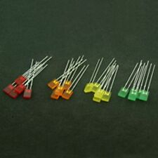 20 Piece Rectangular LED Pack Assorted Colours