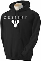 ADULTS AND KIDS DESTINY MAIN LOGO XBOX ONE PS3 PS4 GAMING HOODIE SIZES S-XL