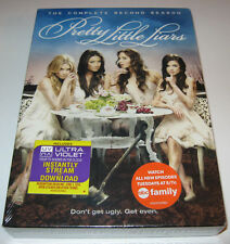 Pretty Little Liars: The Complete Second Season (DVD, 2012, 6-Disc Set) NEW!