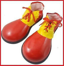 Clown Shoes Adult Costume Funky Circus Big Funny Shoes Fancy Dress Party Costume