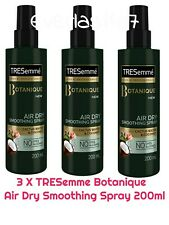 3 X TRESemme Botanique Air Dry Smoothing Spray 200ml