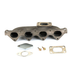 T25 Exhaust Manifold fits Mitsubishi Lancer 4G92 4G93 SOHC DOHC GSR 1.8T