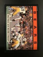 1985 Topps # 22 WALTER PAYTON  Chicago Bears Team Leaders Qty Avail