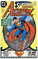 1)ACTION COMICS #643(7/89)SUPERMAN/DARKSEID(GEORGE PEREZ-CVR/ART)CGC IT(9.8)HOT!