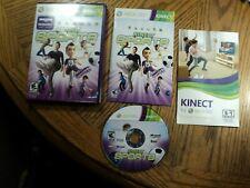 Kinect Sports(Microsoft Xbox 360, 2010) Complete