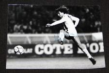 PHOTO PRESSE DEDICACEE ROCHETEAU PSG PARIS SAINT GERMAIN CHAMPIONNAT 1980-87