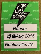 5 Seconds Of Summer Rock Out With Your Socks Out Tour Backstage Pass 2015