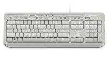Microsoft Wired  Keyboard 600 USB Port (ANB-0026), UK Layout x 4 Pcs - White