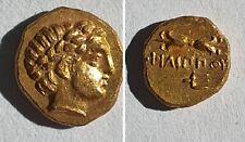 Rare Grece Gold coin   Kingdom of Macedon, Philip II 1/8 Stater -1.04 g.