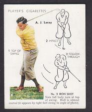 John Player - Golf 1939 (Overseas) - # 19 No. 3 Iron Shot