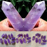 1Pcs Purple Natural 5-6cm Amethyst Quartz Crystal Point Terminated Wand Healing