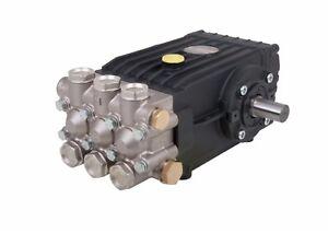 Pressure Washer Jet Wash Genuine WS202 Interpump Pump Solid Shaft 200 Bar 21 LPM
