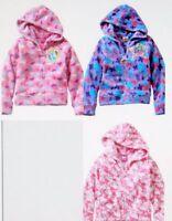 Disney Princess HELLO KITTY Little Pony Pink Fleece Hoodie Sweatshirt 2 3 4 5 6