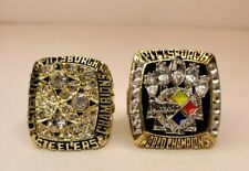 2 PITTSBURGH STEELERS Championship Rings - USA SELLER ( Replicas )