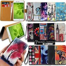 Per Huawei Honor 2 3 4 5 SMARTPHONE IN PELLE SMART STAND WALLET CUSTODIA COVER