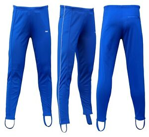 CHEX Sydney Mens Cycling Keep Fit Non Padded Stirrup Trackster Legging Striped