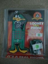 NOVELTY TELEPHONE   Looney Tunes Phone  DAFFY DUCK - New & Never Used