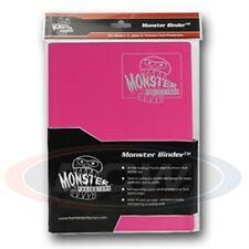 Monster Album Binder 9 Pocket Matte Pink with 20 Sideloading Pages