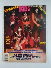 KISS 1978 Grooves Mag Special # 7 POSTER Calendar Rare Pics Gene Paul Ace Peter