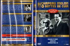 DVD - CHAPEAU MELON ET BOTTES DE CUIR 1962 - Saison 2 - Vol.2 - Macnee,Blackman