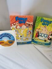 Family guy volumes 3 and 4 bonus disk lightly used complete set
