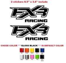 FXR racing Polaris can-am kawasaki atv  xp quad sticker decal (733)