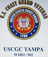 USCGC TAMPA*  WMEC-902* FAMOUS CLASS COAST GUARD VETERAN EMBLEM*SHIRT