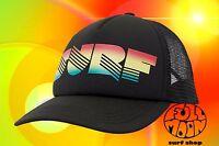 New Billabong Across Waves Rasta Surf Womens Snapback Trucker Cap Hat