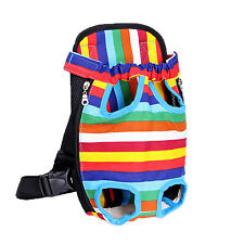 Pet Dog Backpack Carrier Puppy Pouch Cat Front Bag Back Pack With Legs Out