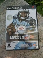 EA Sports Madden NFL 08 Sony PlayStation 2  PS2 Game Complete With Manual TESTED