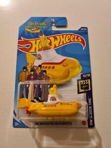 Hot Wheels The Beatles Yellow Submarine TREASURE HUNT 2020
